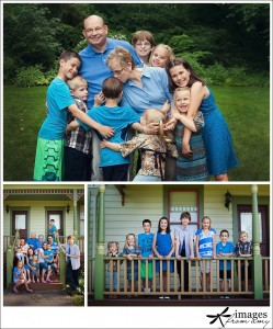 photographing extended families