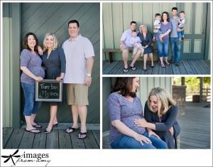 surrogacy maternity photos