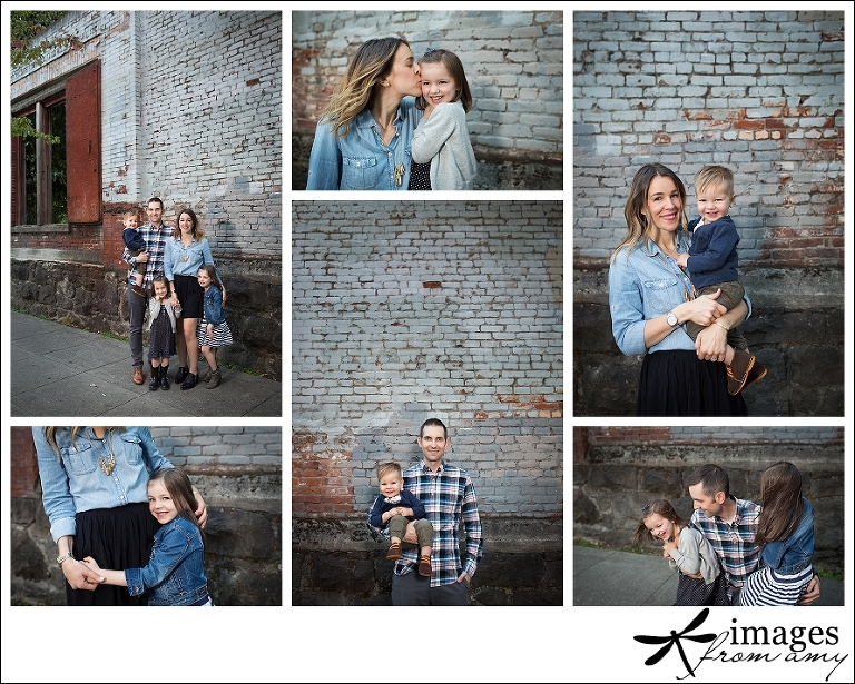 Pearl District family photos