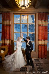 Timberline Lodge wedding