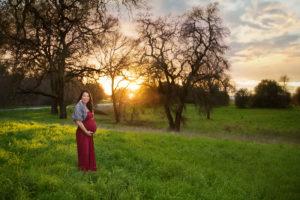 maternity sunset