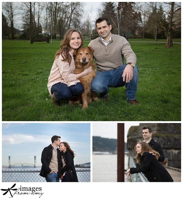 photo with dog